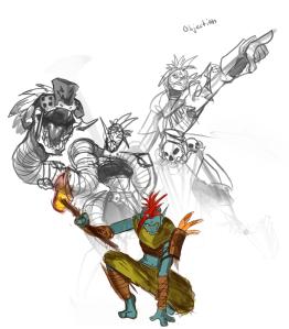 JT - Viper Priestess Concept Art5 (Mad)